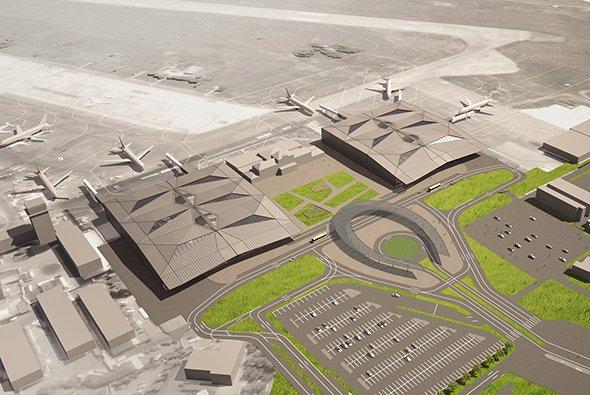 Новый терминал краснодарского аэропорта. ПроектAssmann Beraten + Planen