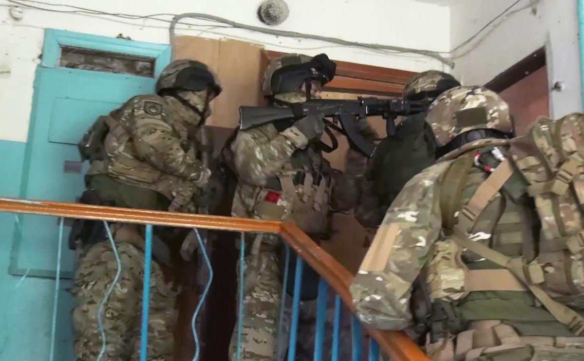Силовики застрелили в Нальчике готовивших теракты боевиков