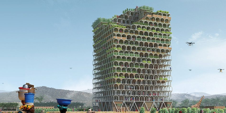 Мashambas, уникальный небоскреб длясельских районов Восточной Африки