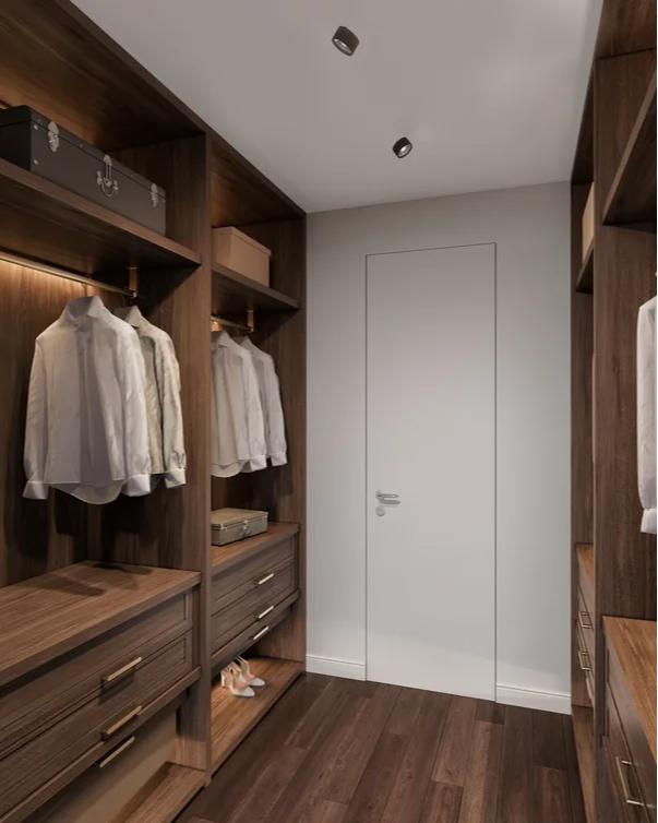 Пример дизайна квартиры в ЖК Sydney City. Визуализация ФСК