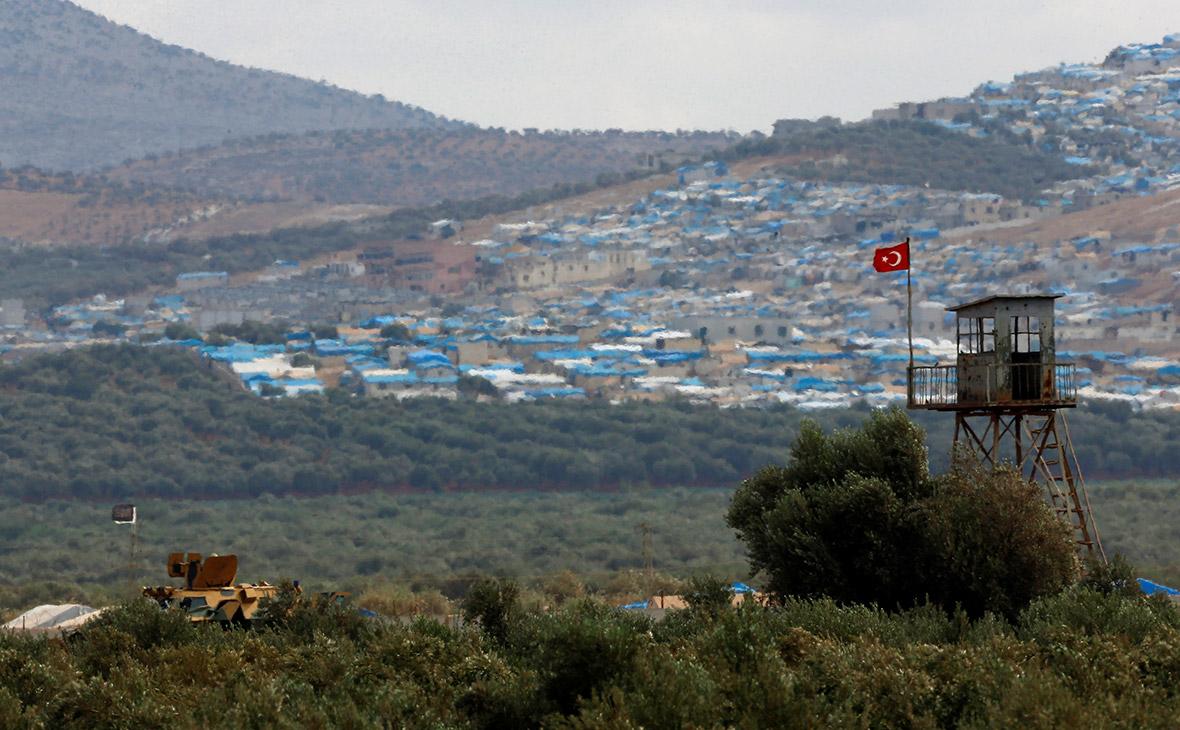Турецкие войска в провинции Идлиб