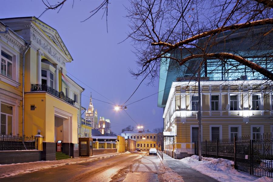 Фото: Переулок Гранатный. Фото: Konstantin Kokoshkin / Russian Look