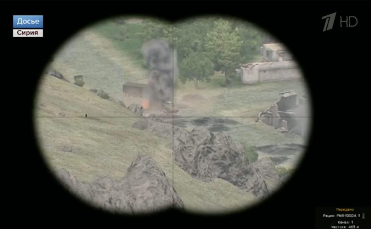 Кадр из сюжета «Первого канала»
