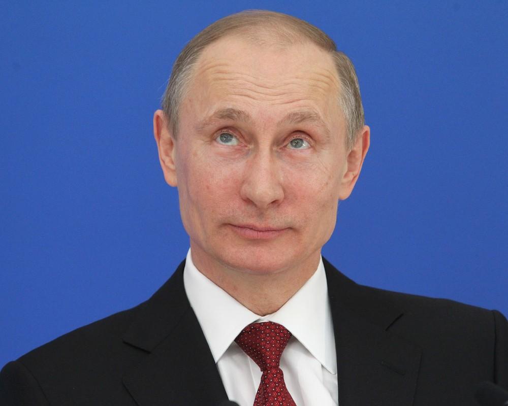 Президент России Путин 2014 фото