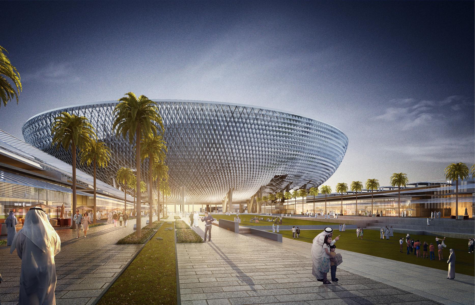 Стадион будет использоваться круглый год. Частью проекта станет собственный ландшафтный дизайн, предусматривающий высадку деревьев и создание тенистых аллей, защищающих от жары: ожидается, что масштабное озеленение создаст собственный микроклимат в спортивном кластере
