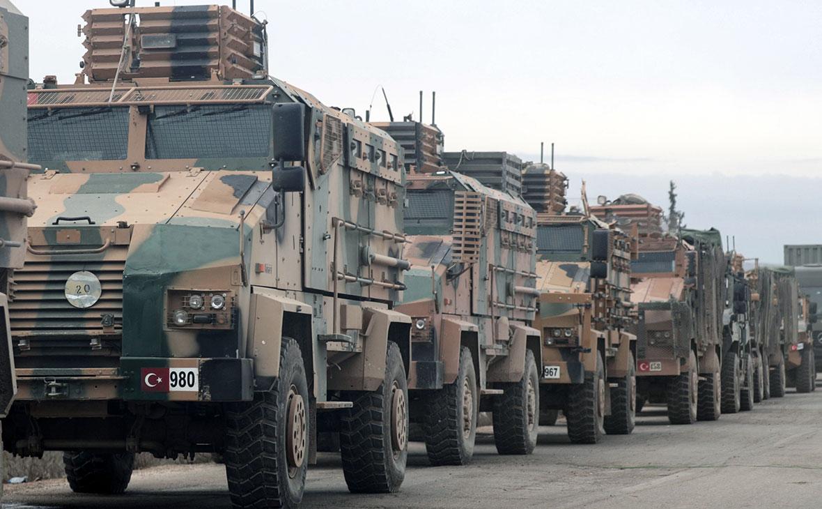 Турецкая военная техника впровинцииИдлиб