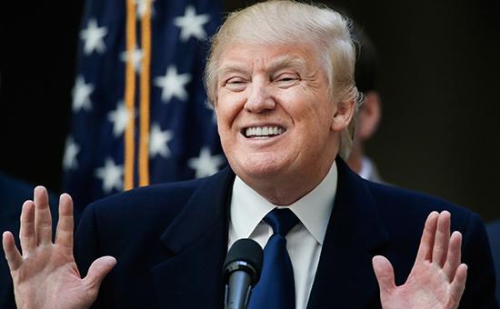 Избранный президент СШАДональд Трамп