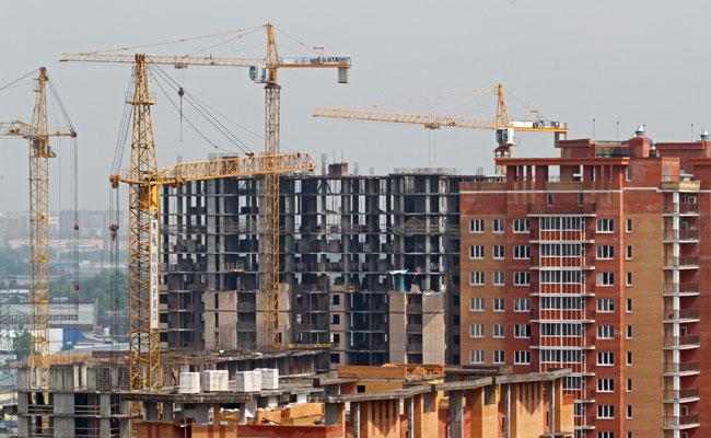 Строительство жилого комплекса в Московской области