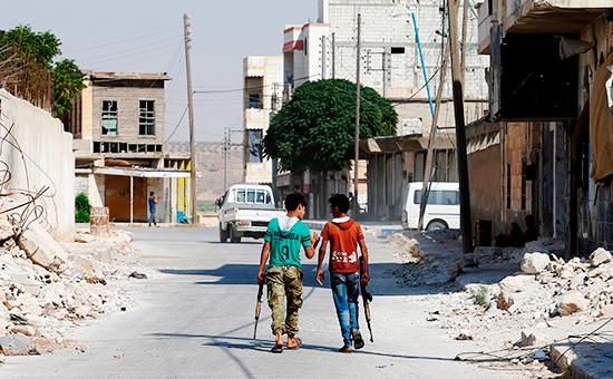 Сирийский город Джераблус, 31 августа 2016 года