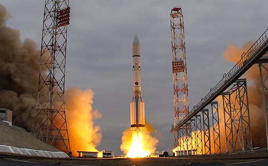 Запуск ракеты-носителя «Протон-М»
