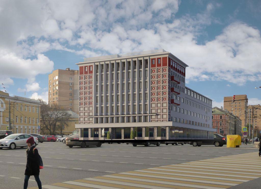 Проект реконструкции исторического здания подгостиницу