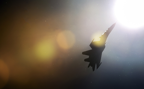 Российский истребитель СУ-30СМ. Архивное фото