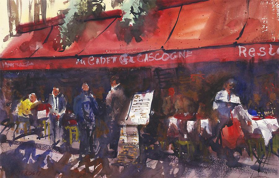 На французских улочках. Монмартр (Париж)