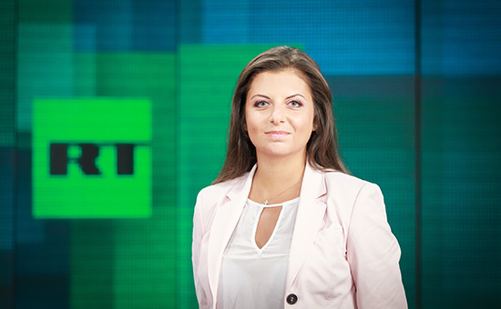 Главный редактор телеканала RT и МИА «Россия сегодня» Маргарита Симоньян