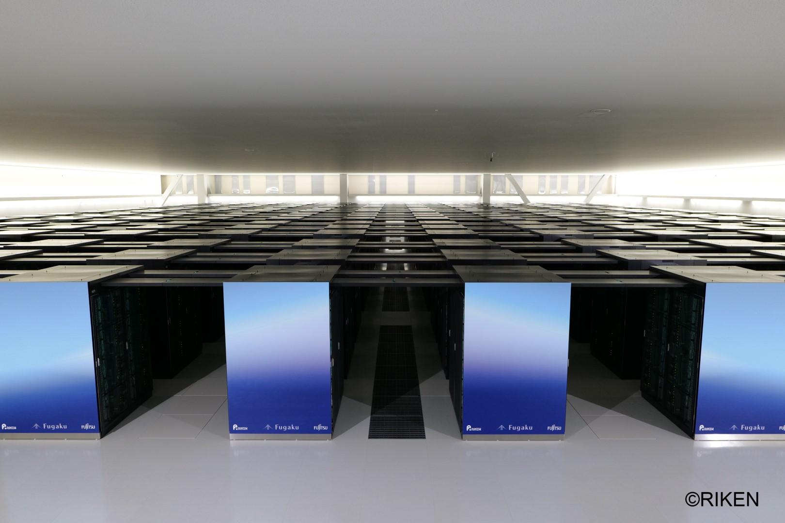 Суперкомпьютер Fujitsu Fugaku