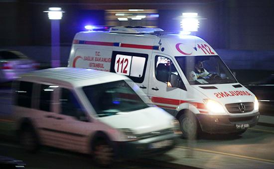 Машина скорой помощи Турции. Архивное фото