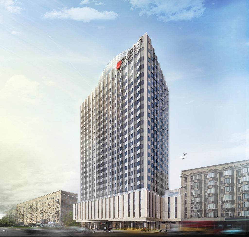 Проект реконструкции гостиницы «Белград» (Azimut)