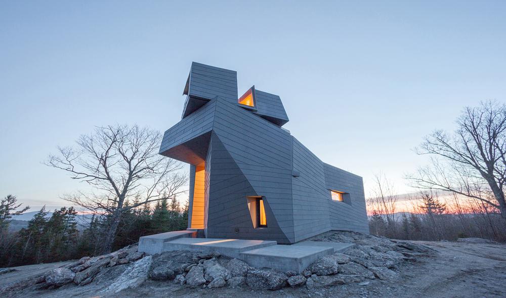 Номинация «Частный дом»   Название: обсерватория Gemma Место: Южный Нью-Гемпшир Архитекторы: Anmahian Winton Architects