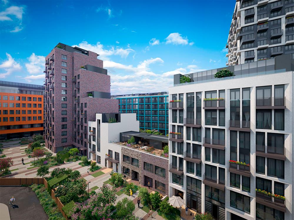 Квартал Jazz   Класс: премиум Статус: квартиры Разрешение на ввод в эксплуатацию: 4-й кв. 2019 года Площадь (кв. м) min-max: 99–248 Стоимость 1 кв. м (тыс. руб.) min-max: 260–271 Стоимость квартиры/апартаментов (млн руб.) min-max: 27–64