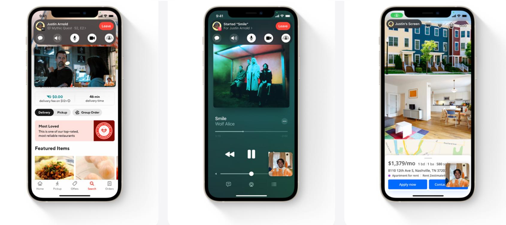 Новые опции FaceTime