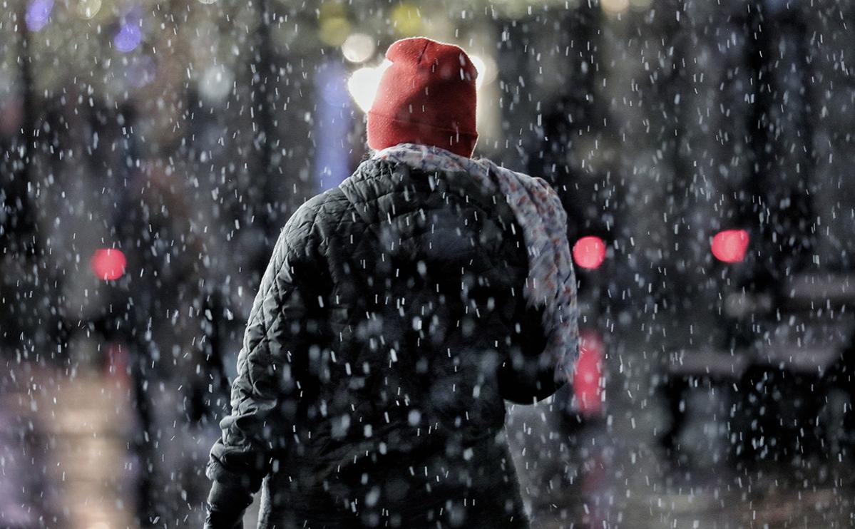 Жителей Москвы предупредили о мокром снеге и усилении ветра