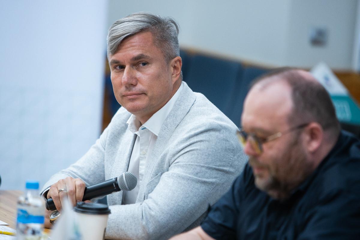 Генеральный директор «Балтийской металлургической компании» Олег Чернов