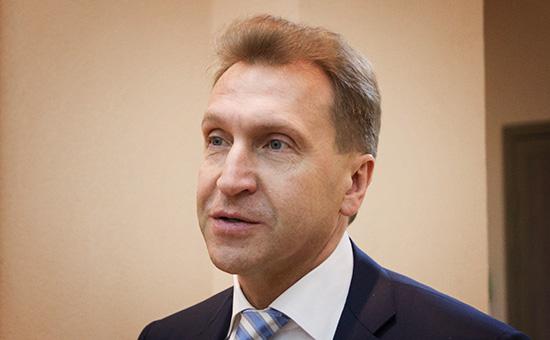 Первый вице-премьер России Игорь Шувалов