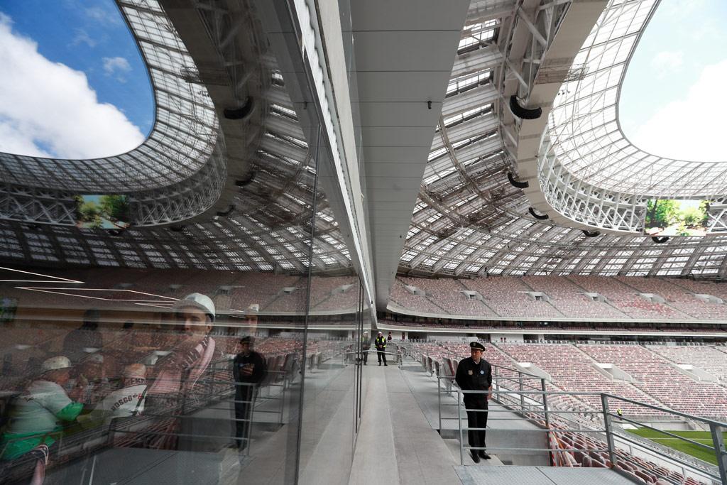 Комплексную реконструкцию начали в2014 году врамках подготовки кпроведению чемпионата мира пофутболу 2018 года. Здесь пройдут церемония иматч открытия, один изполуфиналов ифинал турнира