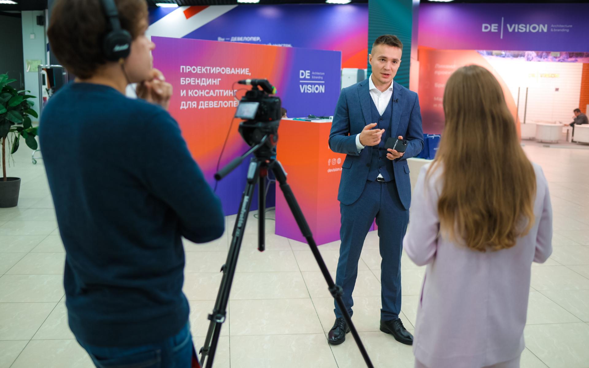 CEO компании DeVision, основатель форума недвижимости «Движение» Илья Пискулин