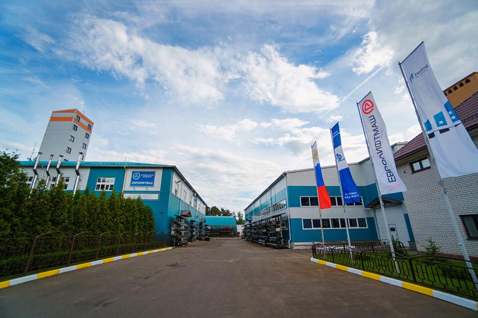 Современный завод в 8км от Москвы