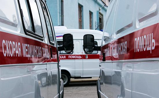 Автомобили скорой помощи в Симферополе.Архивное фото