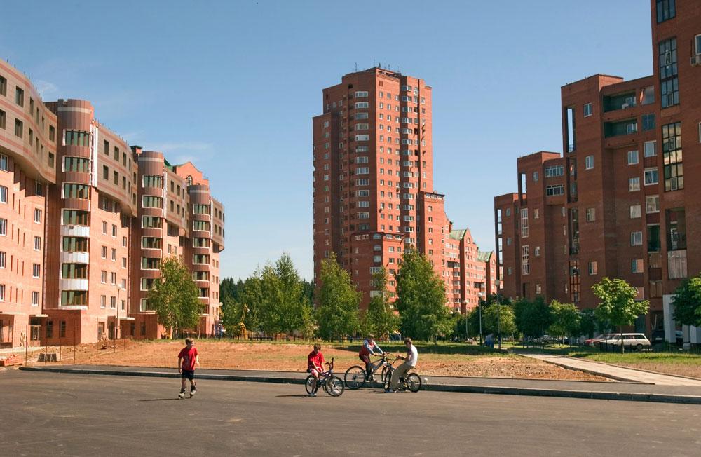 Один из районов Зеленограда