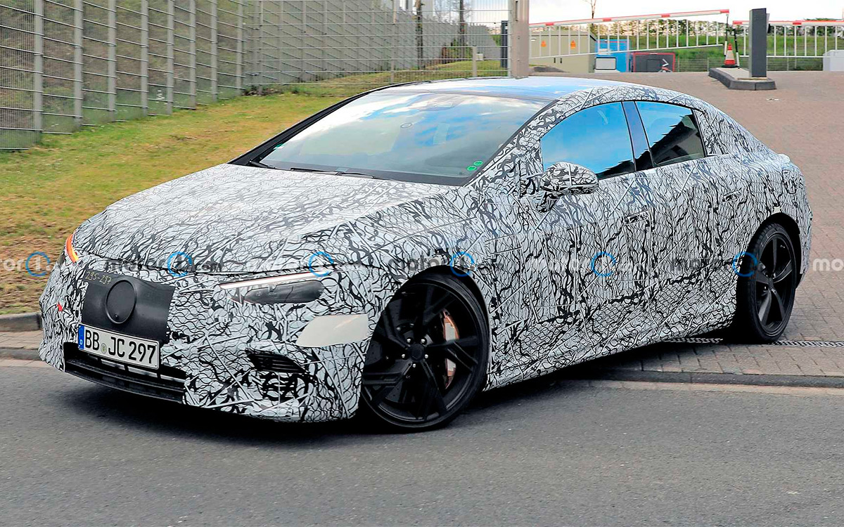 <p>Mercedes-Benz EQE</p>