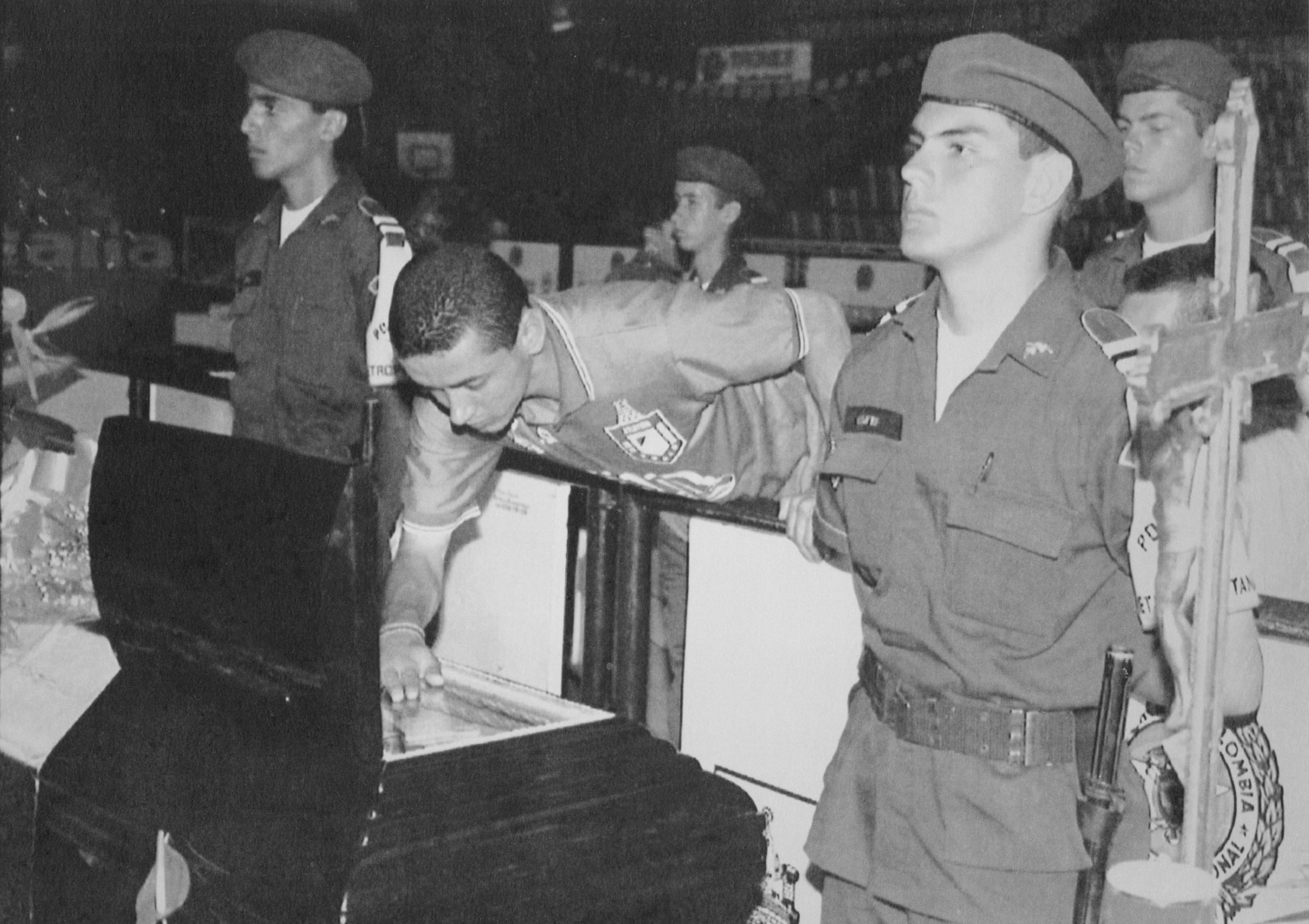 Похороны Андреса Эскобара