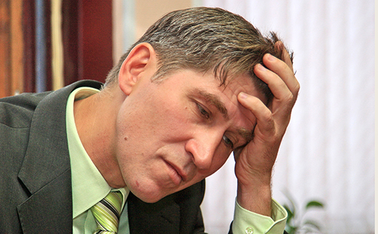 Член партии «Яблоко» Василий Попов