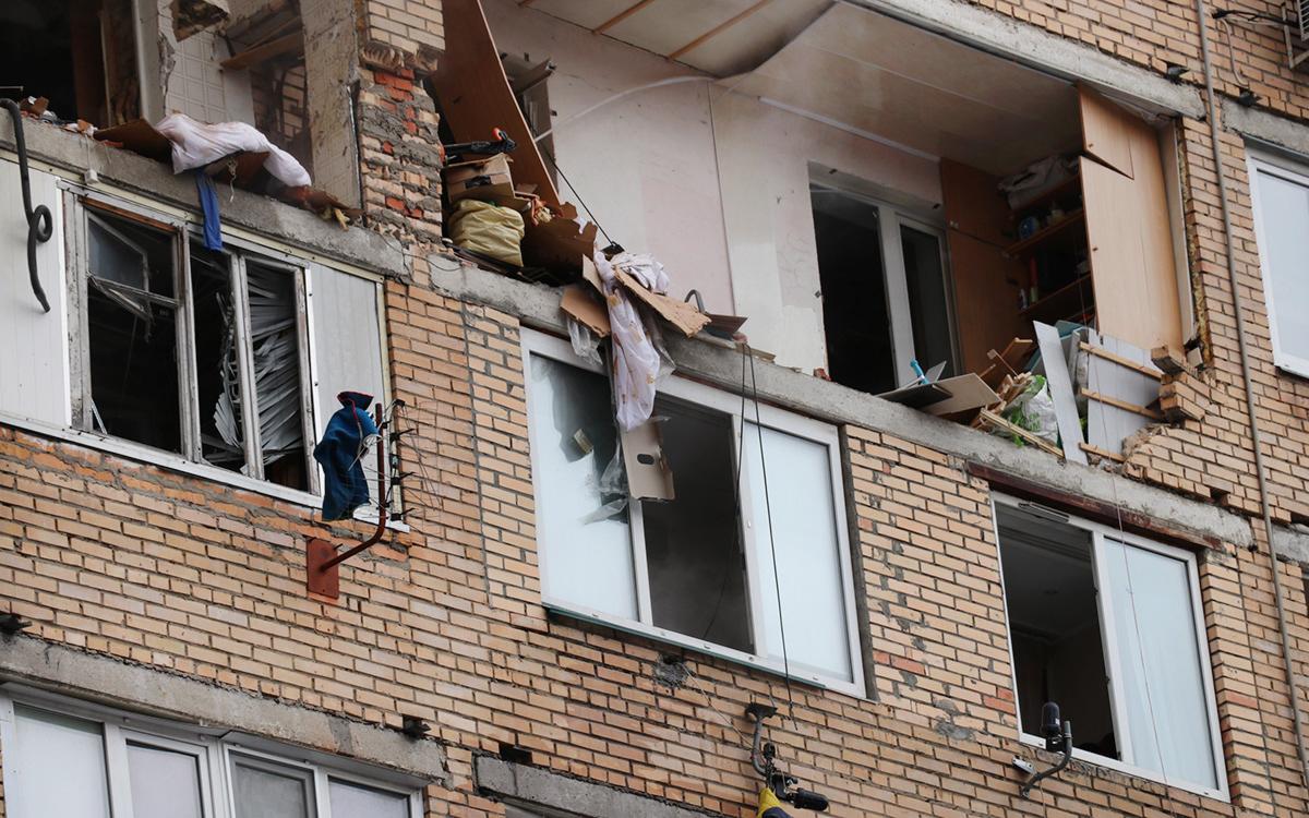 Жильцов двух подъездов дома в Химках эвакуировали после взрыва