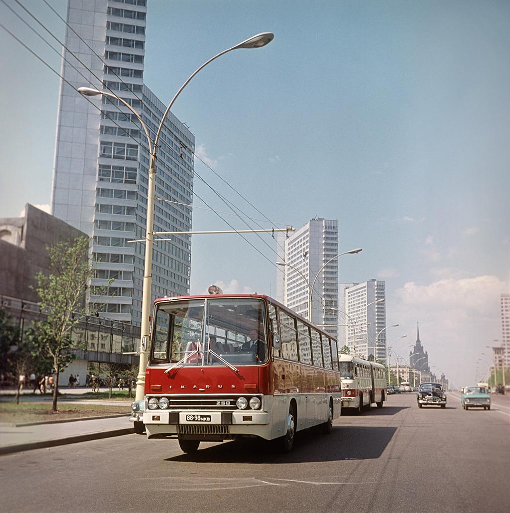 Проспект Калинина в Москве, 1972 год