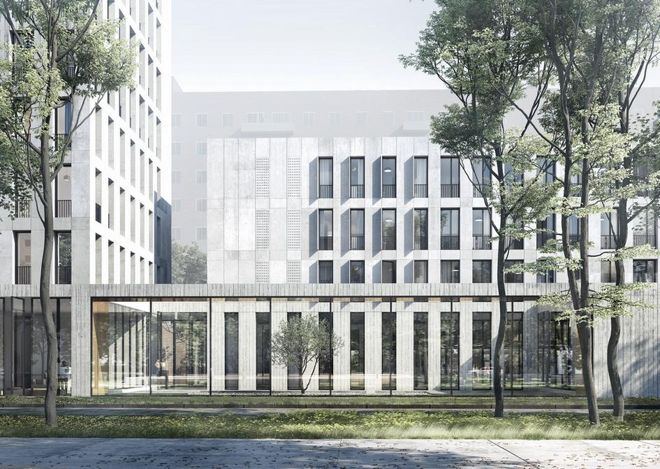 Из портфолио WALL: комплекс апартаментов на Нижней Масловке