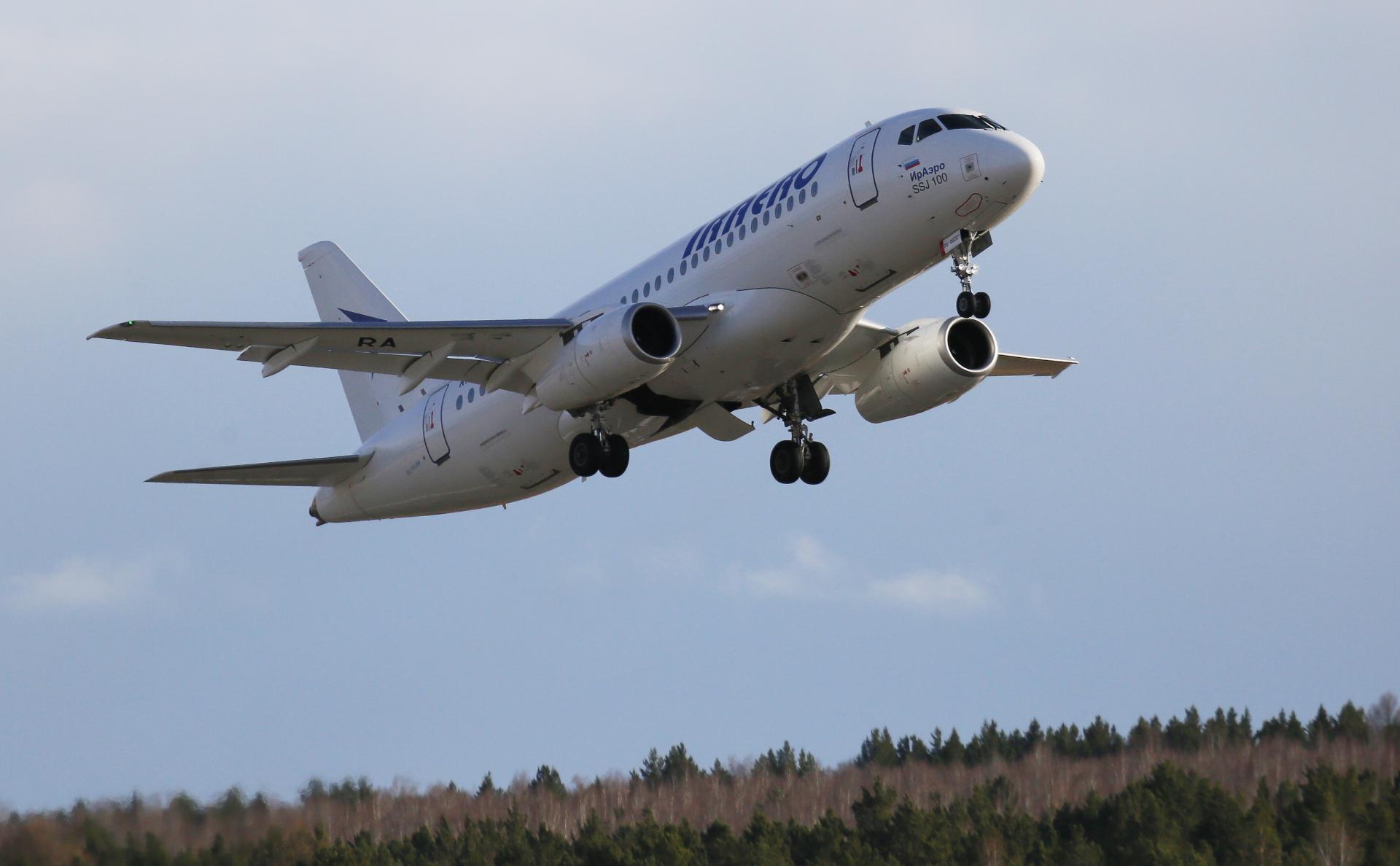SSJ100 авиакомпании «ИрАэро»