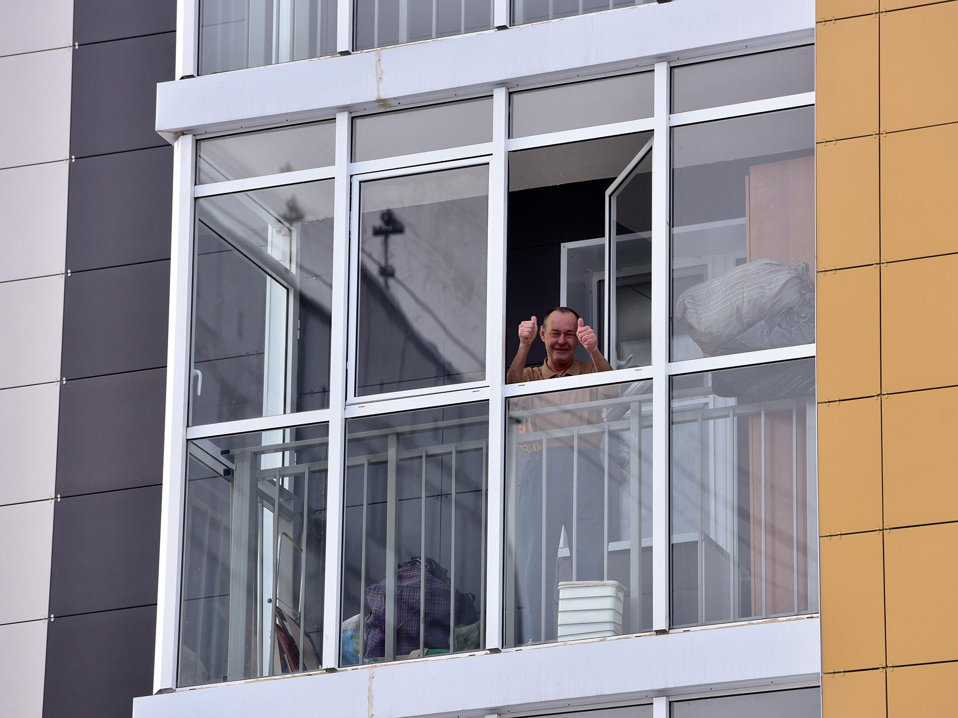 Новый многоквартирный дом на улице 5-й Парковой, д. 62Б, в который в рамках программы реновации начали переезжать первые семьи из пятиэтажного дома на улице Константина Федина в районе Северное Измайлово Восточного административного округа (ВАО)