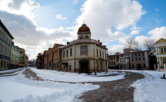 Декорации старой Москвы на территории «Мосфильма»