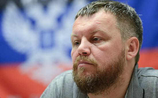 Председатель народного совета ДНР Андрей Пургин