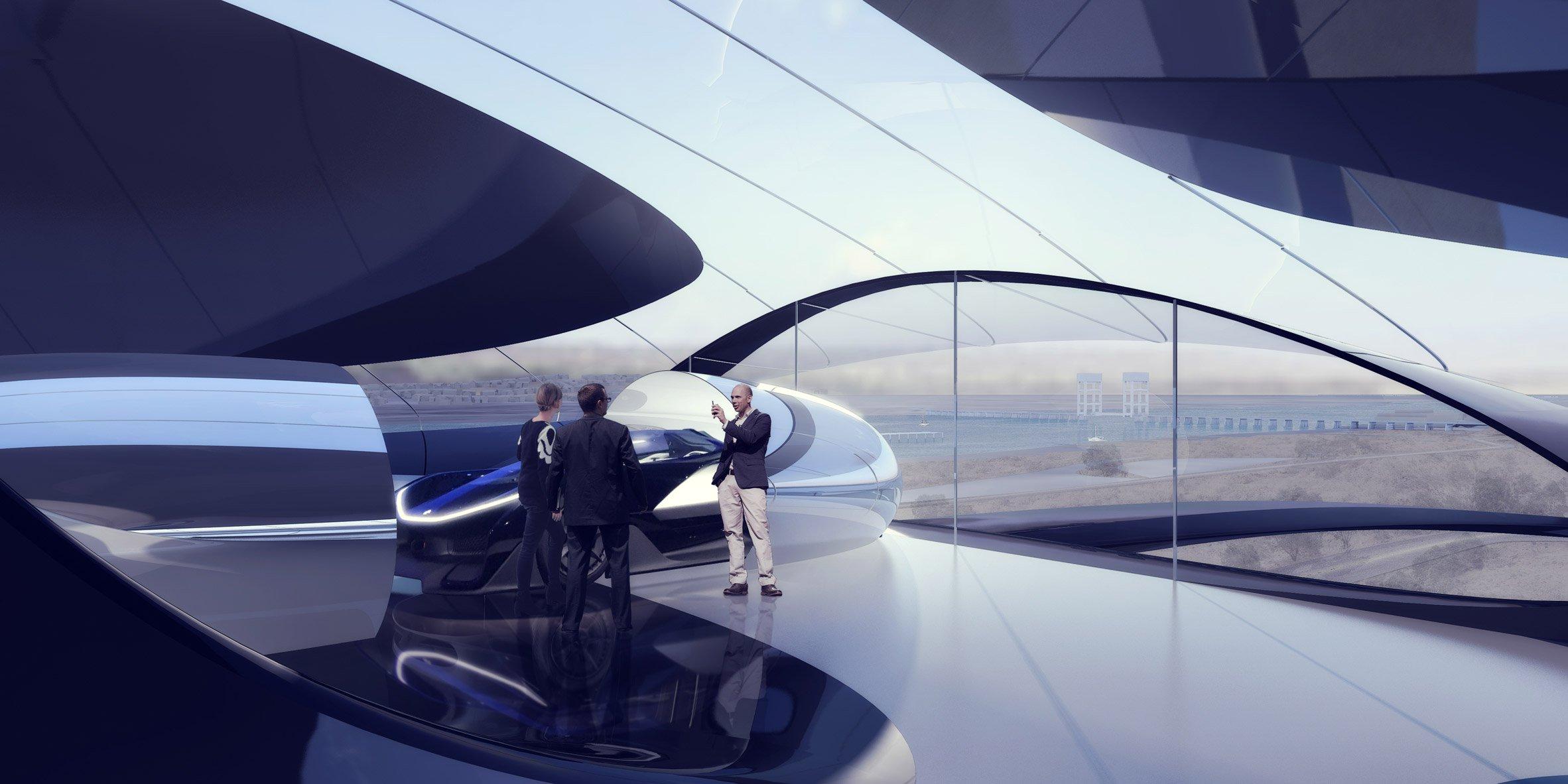 В башне будут размещены выставочное пространство и центр пользовательского опыта для посетителей