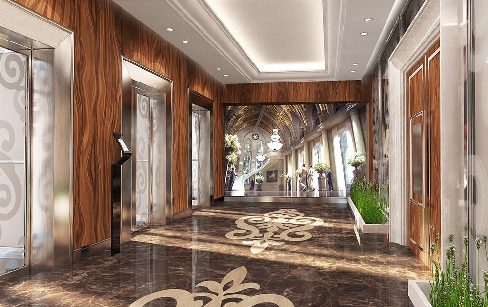 Проект лифтового холла