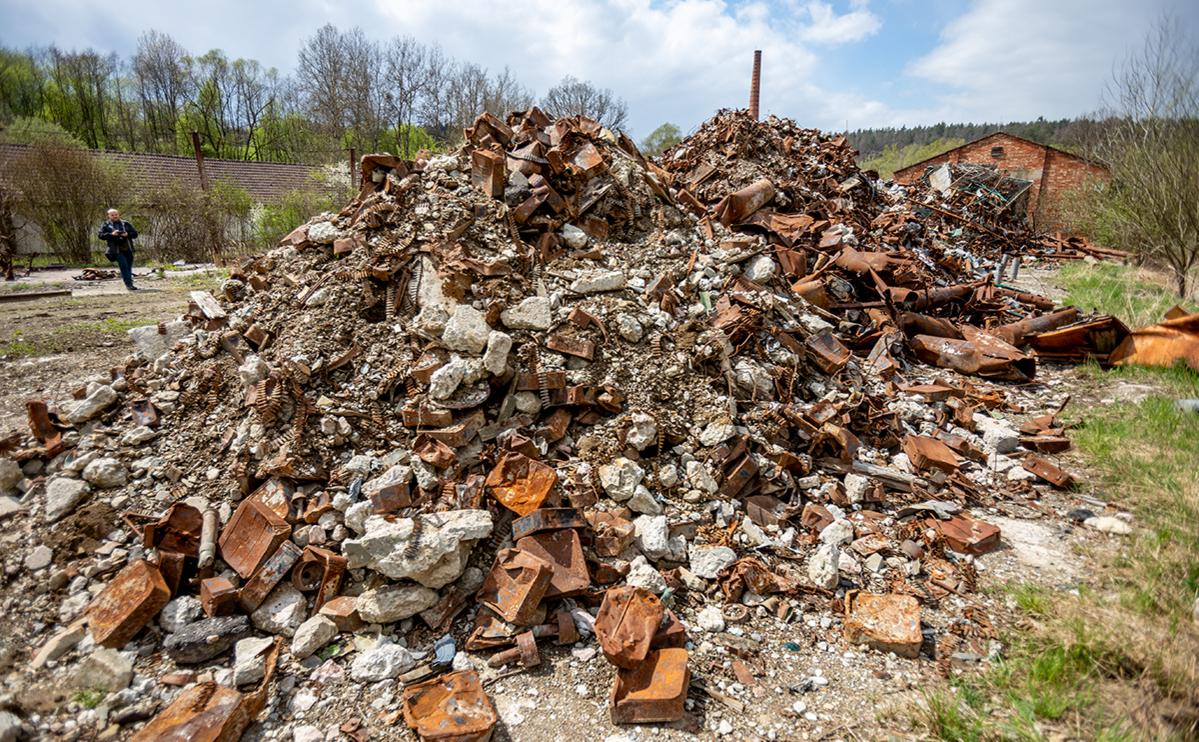 Cклад боеприпасов во Врбетице