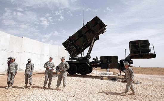 Ракетная система Patriot натурецкой военной базе вТурции, 2014 год