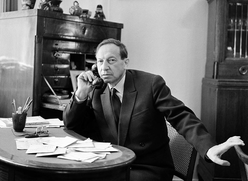Писатель Вениамин Каверин. 1962 год