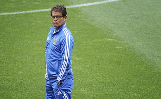 Итальянский тренер Фабио Капелло