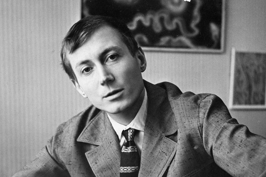 Евгений Евтушенко в 1950-х годах