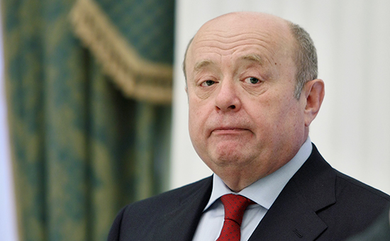 Бывший глава службы внешней разведки Михаил Фрадков